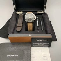 Panerai Luminor 1950 3 Days Chrono Flyback Steel 44mm Black Arabic numerals United States of America, California, Sunnyvale