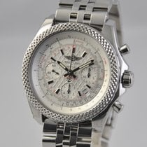 Breitling Bentley B06 pre-owned 44mm Silver Chronograph Date Steel