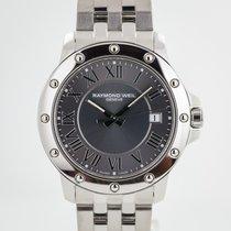 Raymond Weil Tango Steel 39.0mm Grey Roman numerals