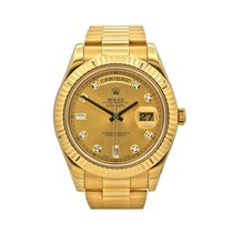 Rolex Day-Date II Yellow gold 41mm Gold Arabic numerals United States of America, New York, New York