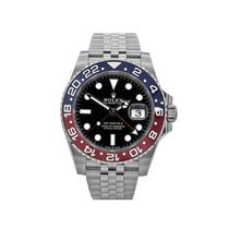 Rolex 126710BLRO Steel 2019 GMT-Master II 40mm pre-owned