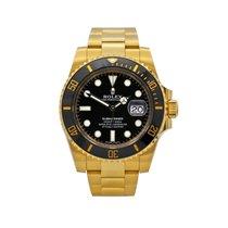 Rolex Submariner Date nuevo 2018 Automático Reloj con estuche y documentos originales 116618LN