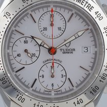 Tudor Chronautic Acero 41mm Blanco Sin cifras