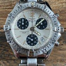 Breitling Colt Chronograph Acier 38mm Argent Sans chiffres