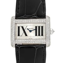 Cartier Tank Divan new Quartz Watch with original box WA301571