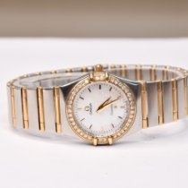 Omega Constellation Ladies Or/Acier 25mm Nacre