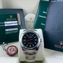 Rolex Milgauss Steel 40mm Black No numerals United Kingdom, London