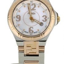 Fendi Gold/Steel 28mm Quartz 4600L-275 pre-owned United States of America, Illinois, BUFFALO GROVE