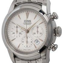 Oris Artelier Chronograph Acier 43mm Argent