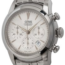 Oris Artelier Chronograph Steel 43mm Silver United States of America, Texas, Austin