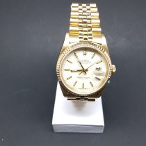 Rolex 16238 Or jaune 1989 Datejust 36mm occasion