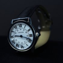 Cartier Ronde Solo de Cartier Steel 29mm Silver Roman numerals