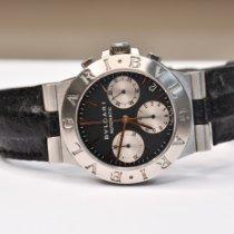 Bulgari Steel 35mm Chronograph CH 35 S pre-owned