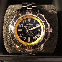 Breitling Superocean 42 Acier 42mm Noir Arabes France, GRANS