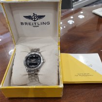 Breitling Chronospace Steel 48mm Black Arabic numerals
