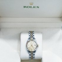 Rolex Lady-Datejust Gold/Steel 26mm Champagne No numerals