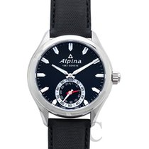 Alpina Horological Smartwatch Acero 44mm Negro
