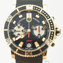 Ulysse Nardin Maxi Marine Diver 8006-102-3A/92 Çok iyi Açık kırmızı altın 42.7mm Otomatik Türkiye, ANKARA