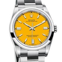 Rolex Acero Automático Amarillo Sin cifras 31mm nuevo Oyster Perpetual 31