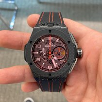 Hublot pre-owned Automatic 45mm Red Sapphire crystal 10 ATM