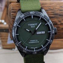 Tissot PRS 516 Steel 42mm Green No numerals United States of America, Oregon, Tigard