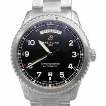 Breitling Steel 41mm Automatic A45330101B1A1