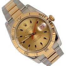 Rolex Datejust Turn-O-Graph usato 36mm Champagne Data Oro/acciaio