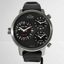Glycine Steel 53mm Automatic 3829 pre-owned United States of America, Massachusetts, Boston
