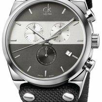 ck Calvin Klein Acero 45mm Cuarzo K4B371B3 nuevo