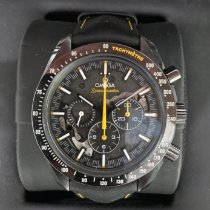 Omega Carbon Manual winding Black No numerals 44.25mm pre-owned Speedmaster Professional Moonwatch