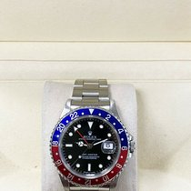 Rolex Steel Automatic 40mm pre-owned GMT-Master