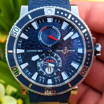 Ulysse Nardin Maxi Marine Diver Steel 45mm Blue No numerals United States of America, Texas, Frisco