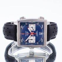 TAG Heuer Monaco Calibre 11 Steel 39mm Blue