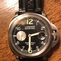 Panerai Luminor Marina Automatic Acier 44mm Noir Arabes France, Paris