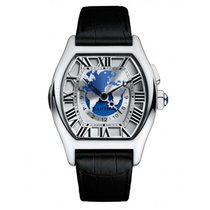 Cartier White gold 51mm Automatic Tortue pre-owned