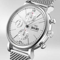 IWC Portofino Chronograph Stahl 42mm Silber