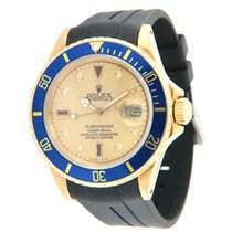 Rolex 16808 Yellow gold 1980 Submariner Date 40mm pre-owned United States of America, Virginia, Vienna