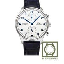 IWC Portuguese Chronograph nuevo 2020 Automático Cronógrafo Reloj con estuche y documentos originales IW371605