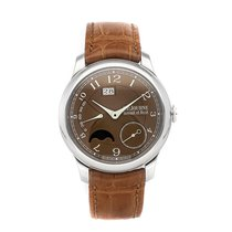 F.P.Journe Platinum Automatic Brown Arabic numerals 40mm pre-owned Octa
