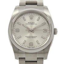 Rolex Automatika Stříbrná 34mm použité Oyster Perpetual 34