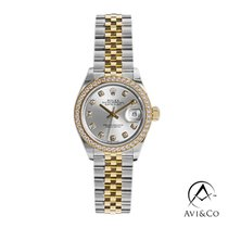 Rolex Lady-Datejust Steel 28mm Silver No numerals United States of America, New York