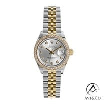 Rolex Lady-Datejust Steel 28mm Silver No numerals United States of America, New York, New York