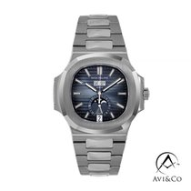 Patek Philippe Nautilus Steel 41mm Blue No numerals United States of America, New York, New York