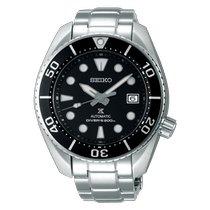 Seiko Prospex Steel 45mmmm Black No numerals