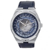 Vacheron Constantin Overseas World Time Steel 43.5mm Blue United States of America, New York, New York