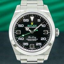 Rolex Air King Steel Black Arabic numerals United States of America, Massachusetts, Boston