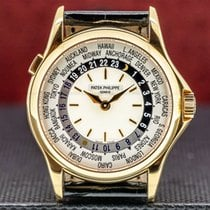 Patek Philippe World Time Rose gold 37mm United States of America, Massachusetts
