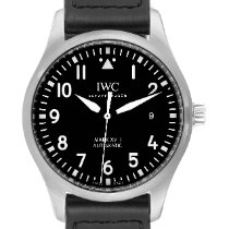 IWC Pilot Mark Steel 40mm Black Arabic numerals United States of America, Georgia, Atlanta