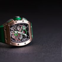 Richard Mille RM 011 Rose gold Transparent Arabic numerals