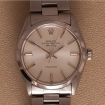 Rolex 5500 Staal 1980 Air King Precision 34mm tweedehands Nederland